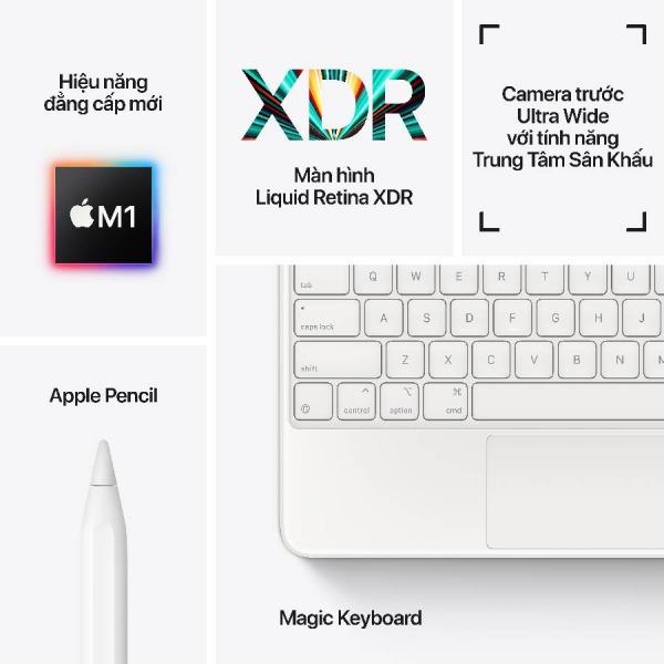IPADPRO-12.9-21-2TB-4G - iPad Pro 12.9 M1 2021 2TB Wifi + 5G - Chính hãng VN - 6