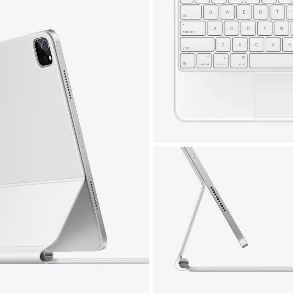 MAGICKEYBOARD11INCH-WHITE - Bàn phím Magic Keyboard cho Apple iPad Pro 11inch Chính hãng VN A - White - 3