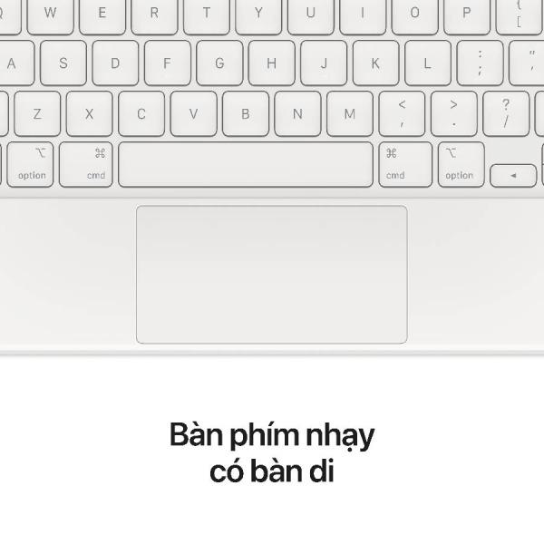 MAGICKEYBOARD11INCH-WHITE - Bàn phím Magic Keyboard cho Apple iPad Pro 11inch Chính hãng VN A - White - 5