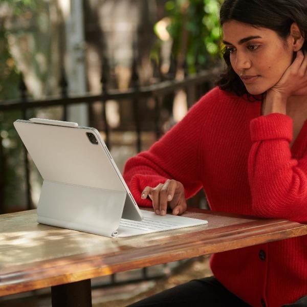 MAGICKEYBOARD11INCH-WHITE - Bàn phím Magic Keyboard cho Apple iPad Pro 11inch Chính hãng VN A - White - 8