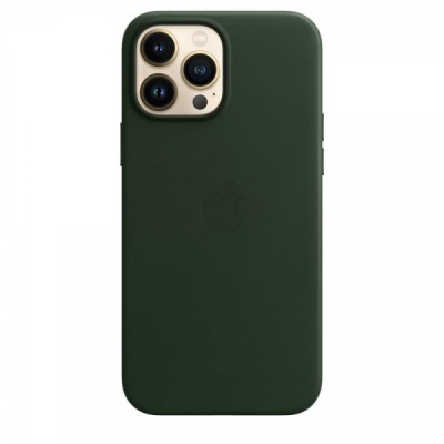Ốp Lưng Apple Leather MagSafe cho iPhone 13 Promax chính hãng - MM1Q3FE/A