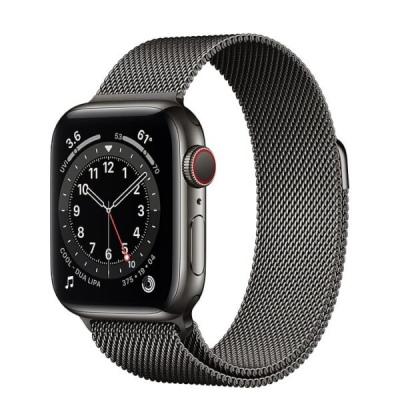 Apple Watch S6 LTE 44mm - New - Viền thép dây thép - Chính hãng VN/A