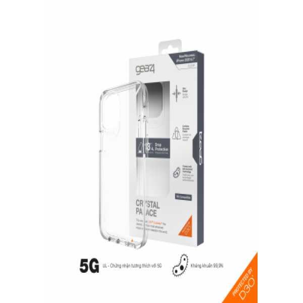 28371 - Ốp lưng Gear4 D3O Crystal Palace 4M For iPhone 12promax
