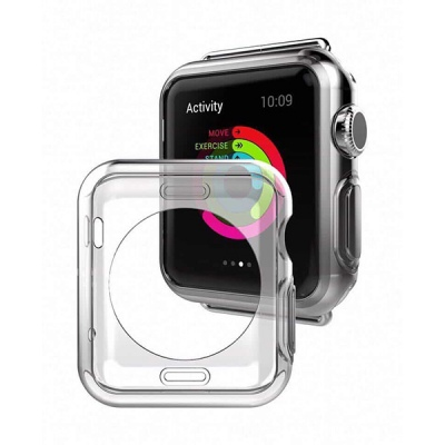 Ốp SILICON trong suốt cho Apple Watch