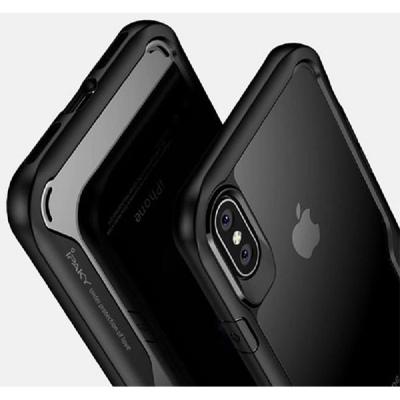 Ốp lưng iPaky lưng trong viền mềm iPhone X/XS