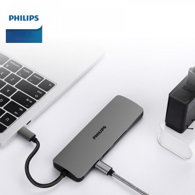 Hub chuyển đổi USB-C 8-IN-1 PHILIPS PL0384GM