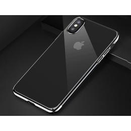 ỐP LƯNG UAU IPHONE X/XS VIỀN ĐEN