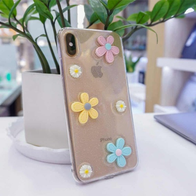Ốp Hoa Silicon iPhone Xs Max