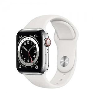 Apple Watch S6 LTE 40mm - New - Viền thép dây cao su - Chính hãng VN/A