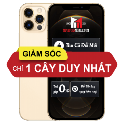 [KÈO THƠM] iPhone 12 Pro 128GB Gold Fullbox Active online - Chính hãng VN/A