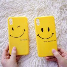 Ốp Smile Silicon  iPhone Xs Max