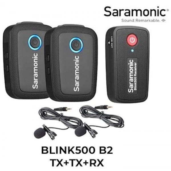 SARABLINKB2 - Micro không dây Saramonic Blink 500 B2