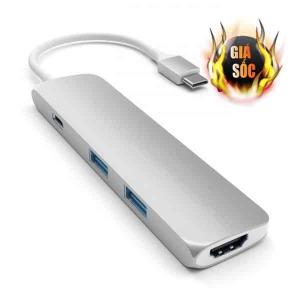 Hub chuyển đổi HyperDrive USB-C 4in1 4K HDMI GN22B