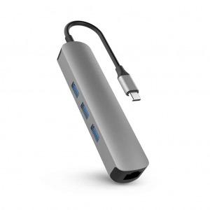 Hub chuyển đổi HyperDrive 4K HDMI 6-in-1 USB-C Hub HD233B