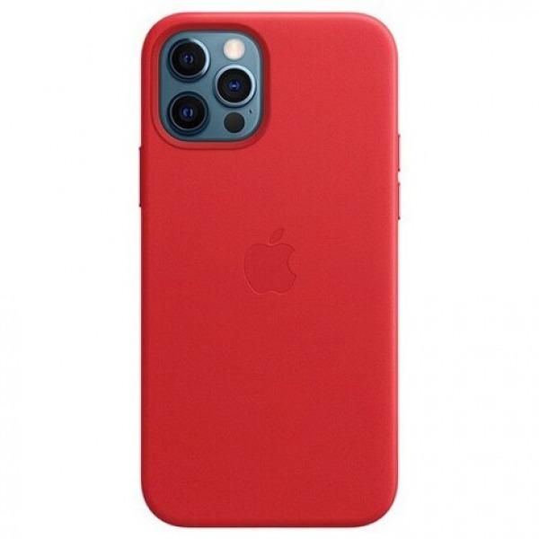MHKD3ZAA - Ốp Lưng Da Apple iPhone 12 12 PRO Red - MHKD3ZA A
