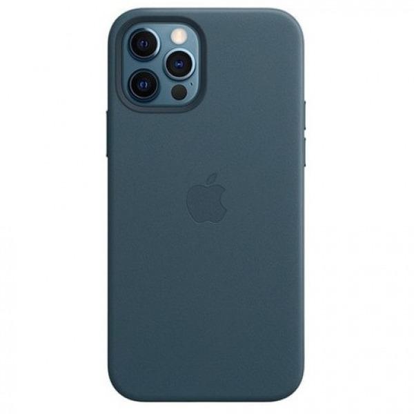 MHKE3ZAA - Ốp Lưng Da Apple iPhone 12 12PRO Deep Blue - MHKE3ZA A