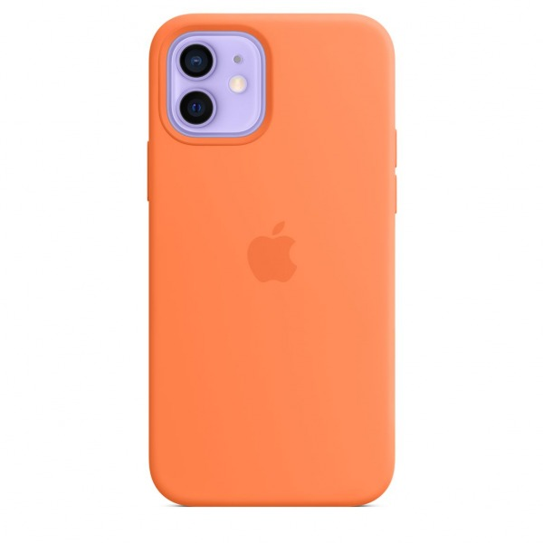MHKY3ZAA - Ốp Lưng Silicon Apple iPhone 12 12 PRO Kumquat - MHKY3ZA A