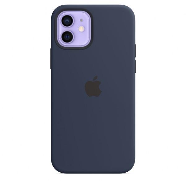 MHL43ZAA - Ốp Lưng Silicon Apple iPhone 12 12 PRO Deep Blue - MHL43ZA A