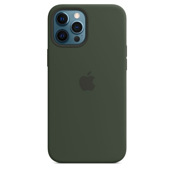 MHLC3ZAA - Ốp Lưng Silicon Apple iPhone 12 ProMax Green - MHLC3ZA A