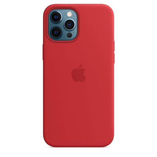 MHLF3ZAA - Ốp Lưng Silicon Apple iPhone 12 ProMax Red - MHLF3ZA A