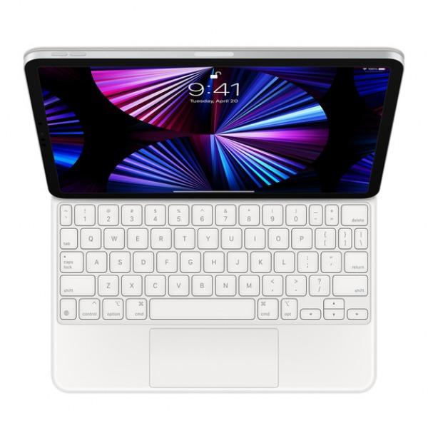 MAGICKEYBOARD11INCH-WHITE - Bàn phím Magic Keyboard cho Apple iPad Pro 11inch Chính hãng VN A - White