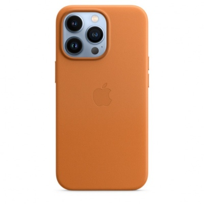 Ốp lưng Apple Leather MagSafe cho iPhone 13 Pro Chính Hãng