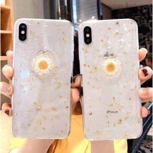 Ốp Hoa Cúc Silicon iPhone