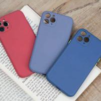 Ốp chống bẩn che cam Silicon iPhone 11 Pro