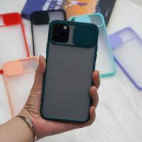 Ốp che cam chống bẩn viền màu iPhone 11 Pro