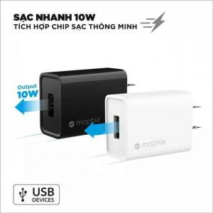 Cốc Sạc USB A 10W  Mophie