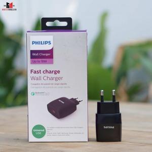 Cốc sạc Philips USB QC 3.0 - DLP2511