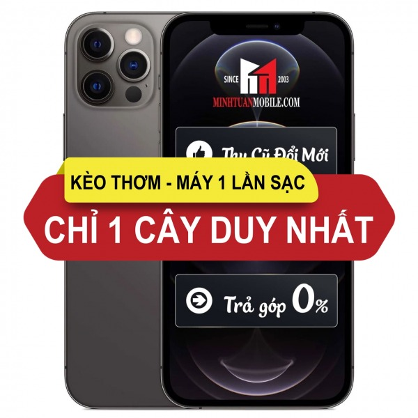 IP12 PRO VN ACT - GRAY - 128GB - [Kèo thơm] iPhone 12 Pro 128GB Gray Likenew Fullbox - Chính hãng VN A
