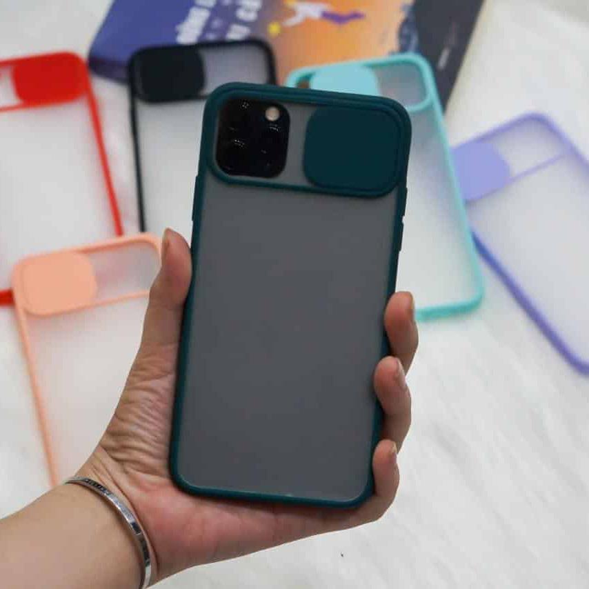 OL0006 - Ốp che cam chống bẩn viền màu iPhone 11 Pro