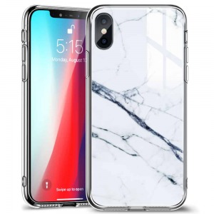 Ốp ESR MARBLE GLASS FOR IPHONE X/Xs