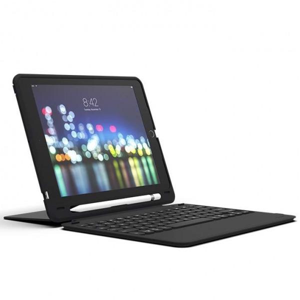 103302308 - Ốp lưng kèm bàn phím ZAGG Keyboard Slim Book Go iPad 9.7