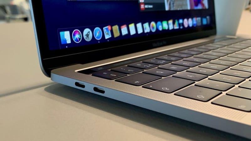 MacBook Pro 13 2019 512GB i5 - Like New 99% - Cổng kết nối