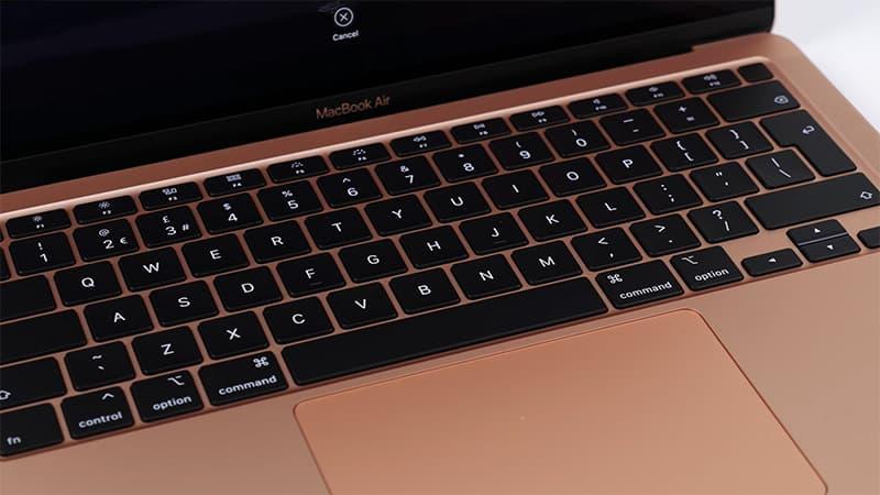 Laptop Apple MacBook Air 2020 - Bàn phím