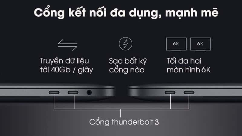 MacBook Pro 2019 15'' MV912/MV932 Touchbar 512GB - 4 cổng Thunderbolt 3