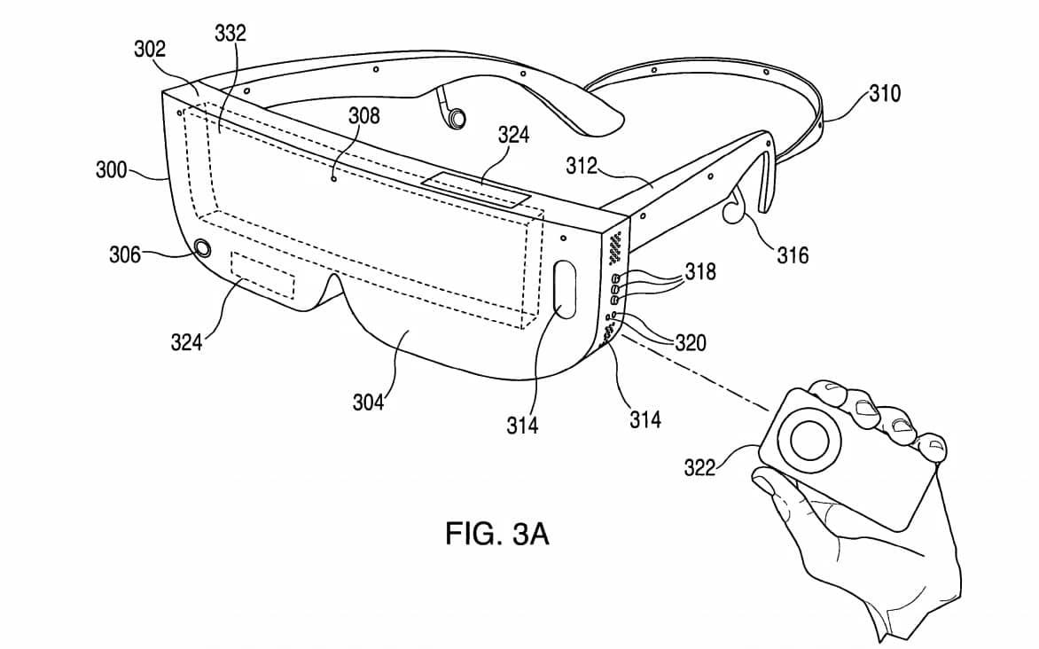 bằng sáng chế thiết bị đeo Apple Glass