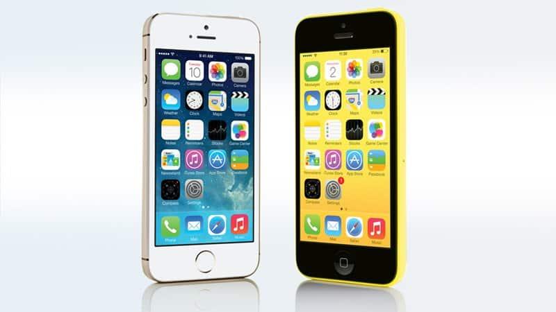 iPhone 5S và iPhone 5C