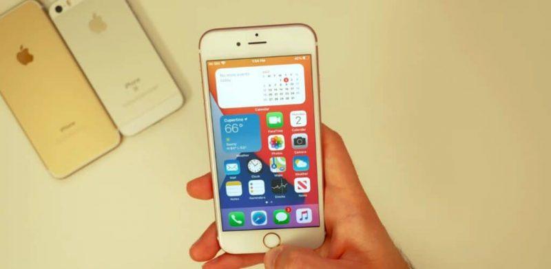 Rò rỉ video iOS 14 Beta hoạt động mượt mà đến bất ngờ trên iPhone 6s