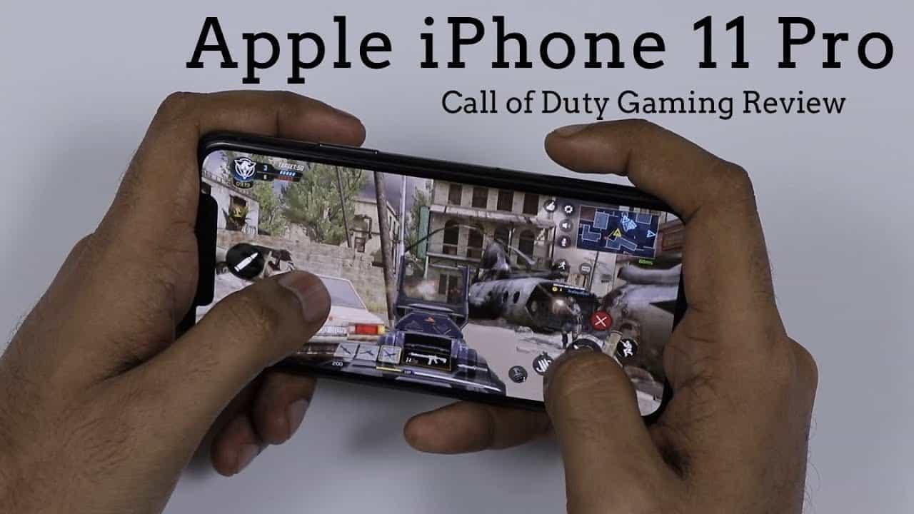 Chiến game trên iPhone 11 Pro Max