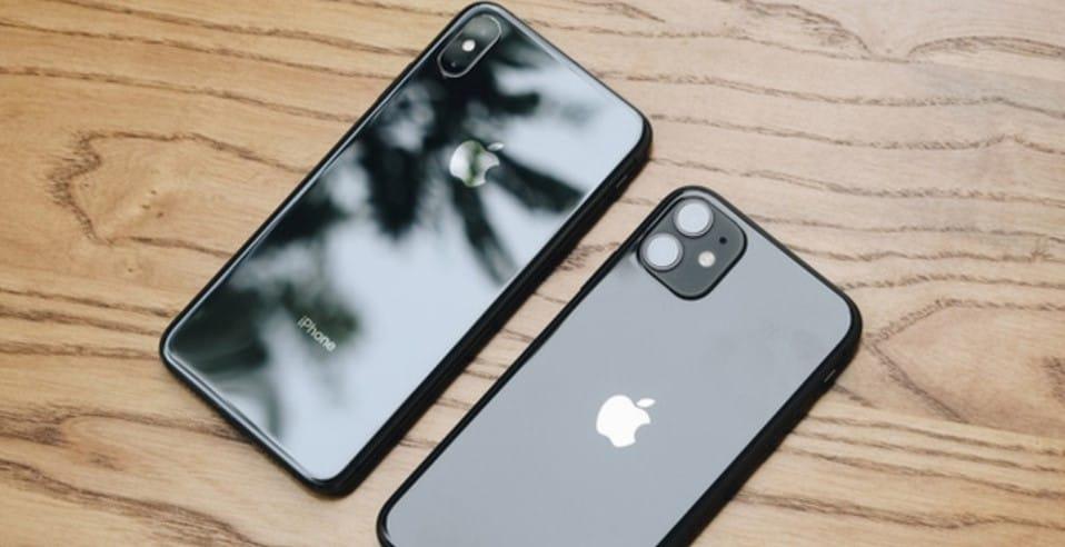 Thiết kế mặt lưng iPhone 11 và iPhone XS Max