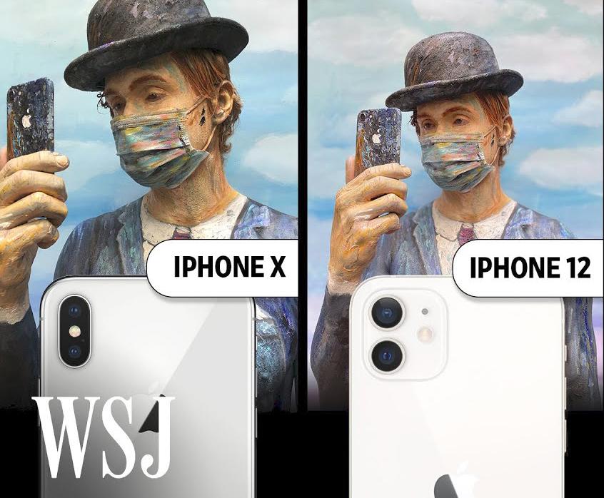 camera iPhone 12 và iPhone X
