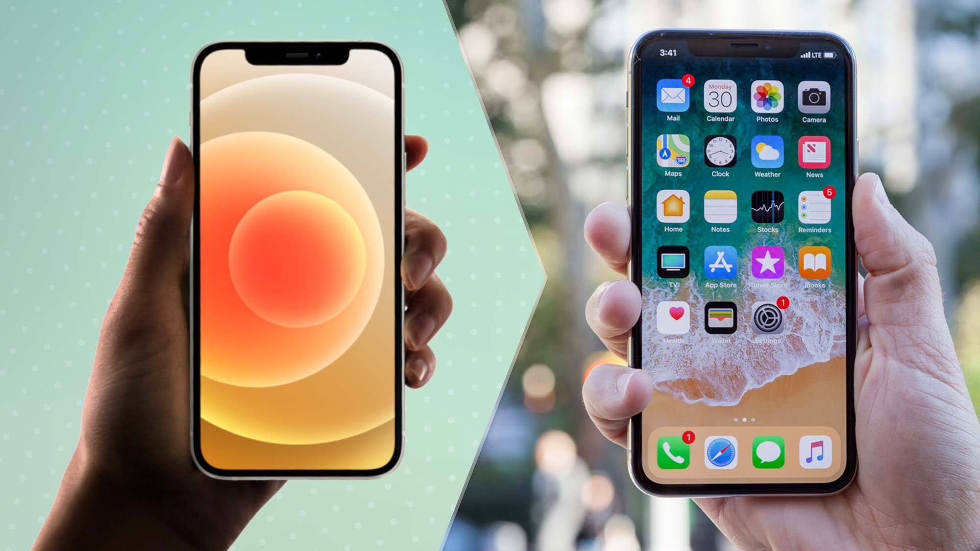 Giá và tính sẵn có của oPhone 12 và iPhone X