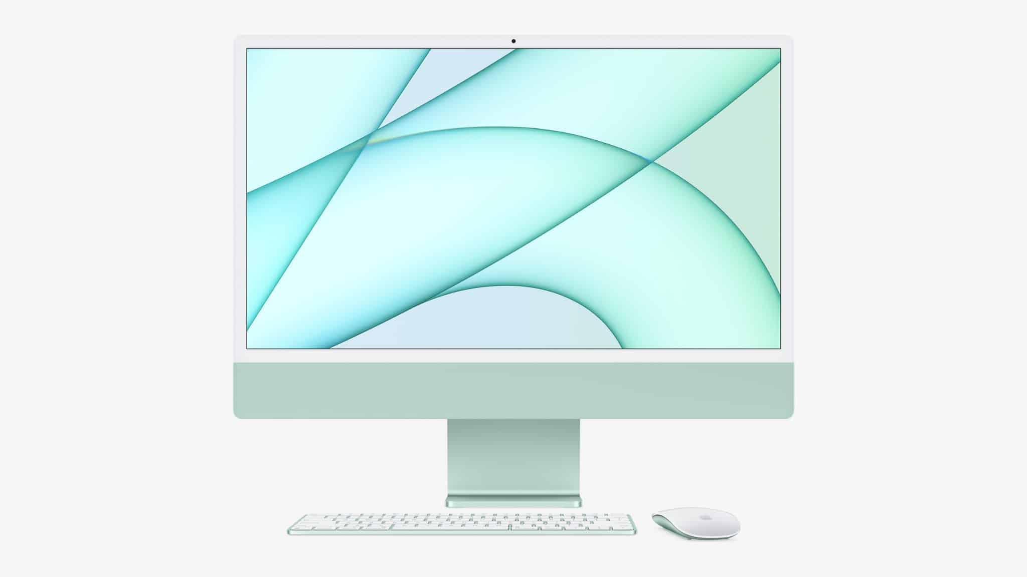 iMac 24 inch được thiết kế lại với màu sắc mới tươi sáng