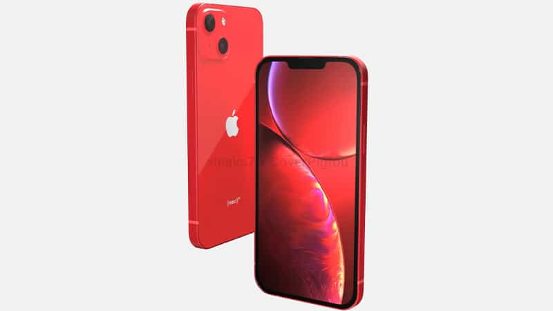 Mô hình CAD iPhone 13 Red Product